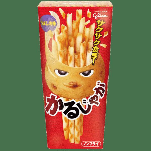 Snack de pommes de terre salées