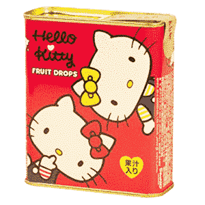 Hello Kitty Fruchtbonbons assortiert