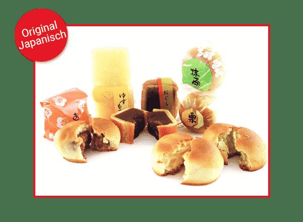 Traditionell-Japanische Gebäckvariation