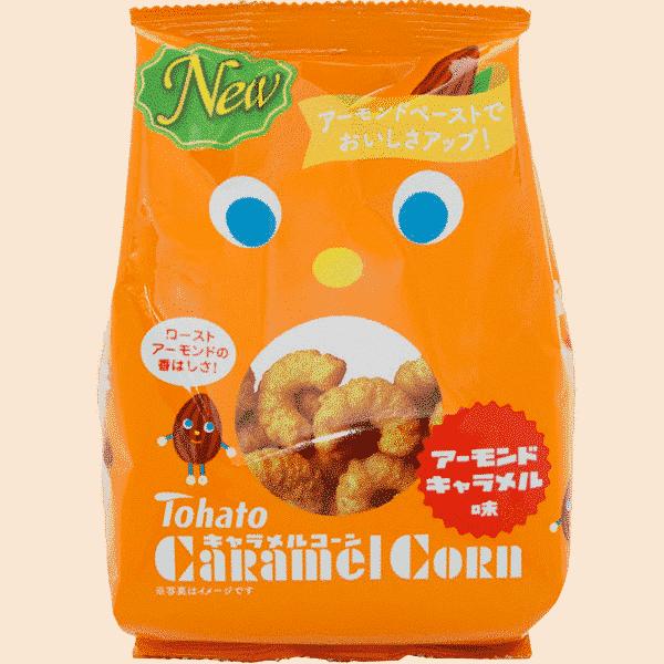 TOHATO Caramel Corn Snack Amande