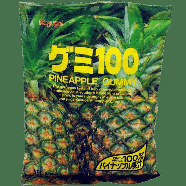 Fruchtgummi Ananas