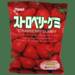 Fruchtgummi Erdbeere