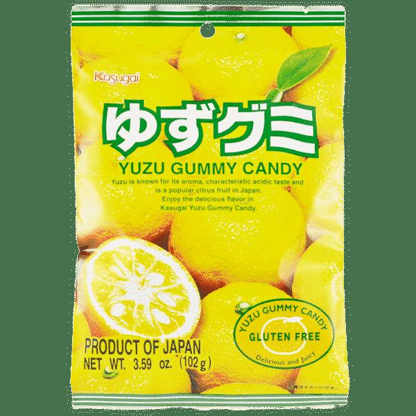 Fruchtgummi Yuzu Zitrone
