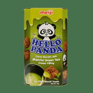Hello Panda Schokokekse mit Matcha-Grünteefüllung
