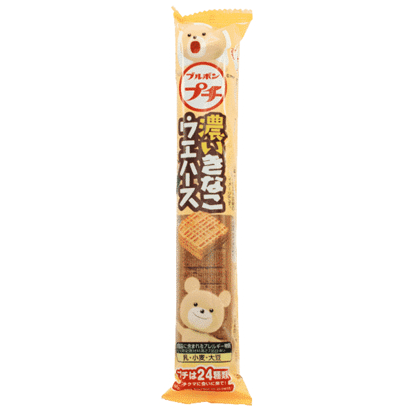 Bourbon Kinako-Waffeln