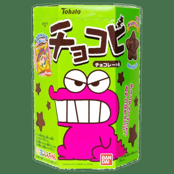 Crayon Shin-Chan étoiles en chocolat