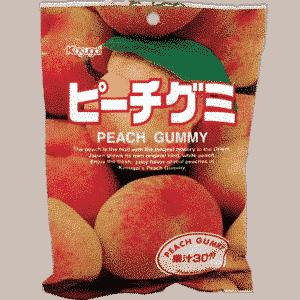 Fruchtgummi Pfirsich