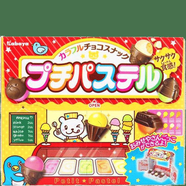 Biscuits au chocolat dans la boutique de bonbons