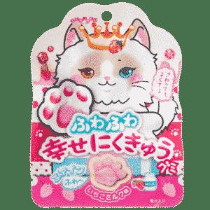 Fruchtgummi-Pfoten Erdbeer-Milch