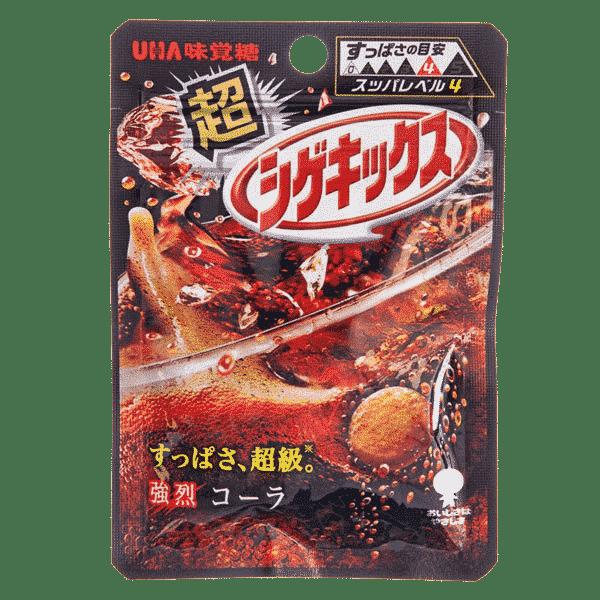 Shigekix Extrem Saures Fruchtgummi (Cola)