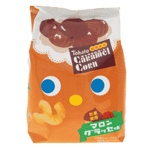 TOHATO Maissnack Caramel-Kastanie