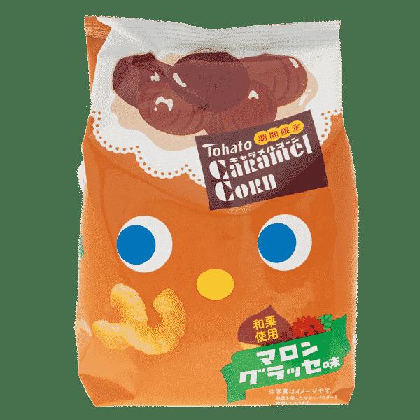 TOHATO Caramel Corn Snack Châtaigne