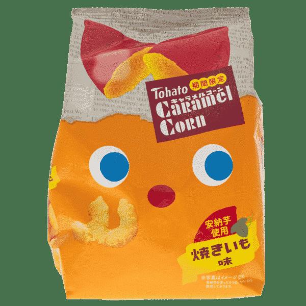 TOHATO Caramel Corn Snack Patate Douce
