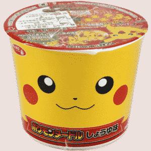 Pokémon Nudelsuppe Sojasauce