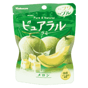 Pureral Melonen-Gummi