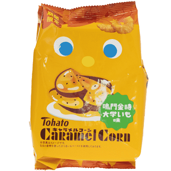 TOHATO Corn Snack Daigaku Imo Caramel Patate Douce