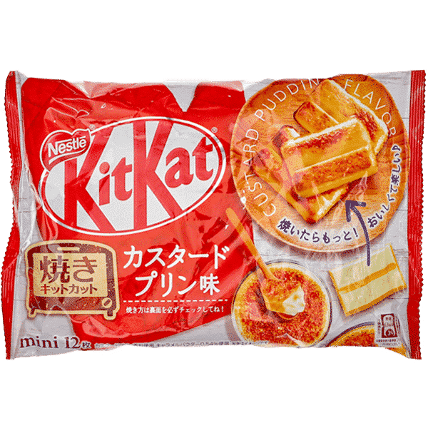 KitKat backbarer Pudding