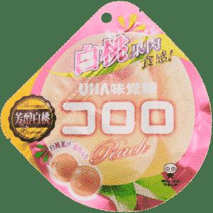Kororo weisse Pfirsich-Gummi