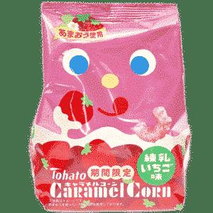TOHATO Maissnack Caramel-Erdbeere