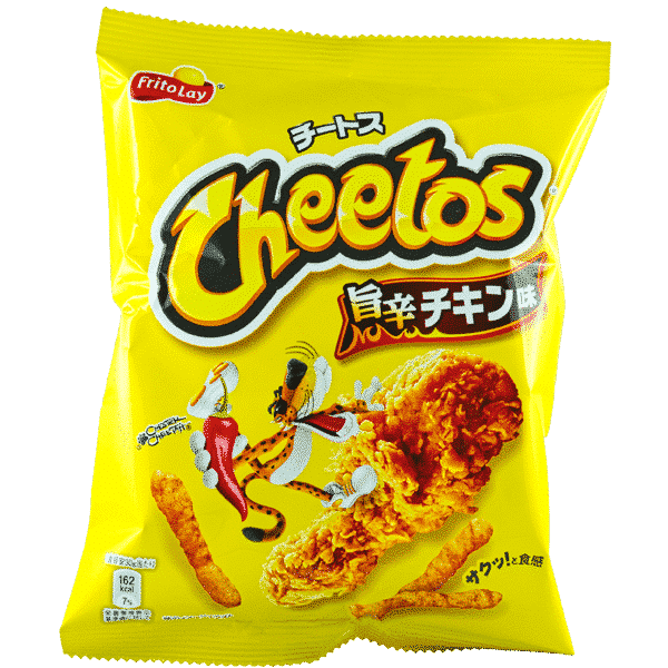 Cheetos Spicy Hot Chicken