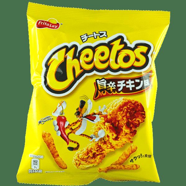 Cheetos Spicy Hot Chicken