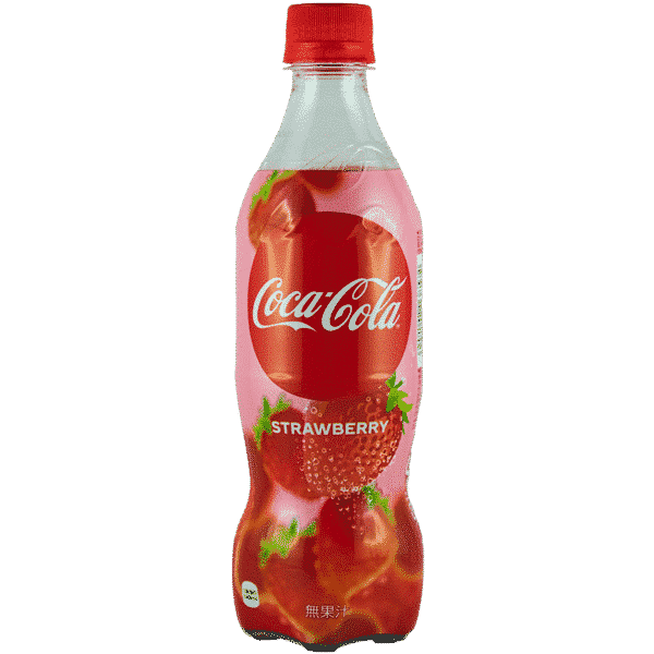 Coca-Cola Erdbeere