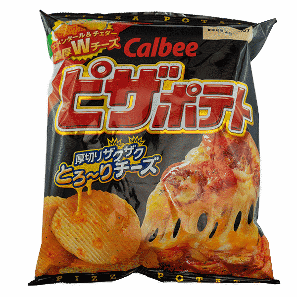Calbee Chips Pizza