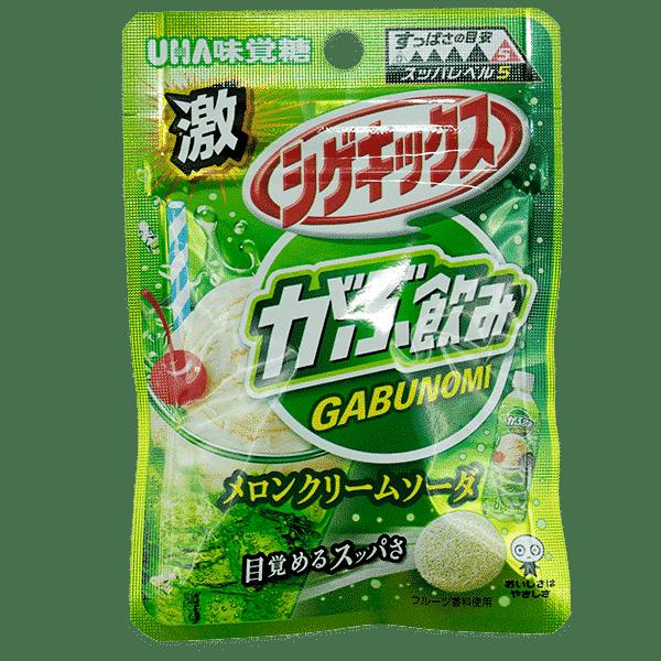 Shigekix Extrem Saures Fruchtgummi (Melone)