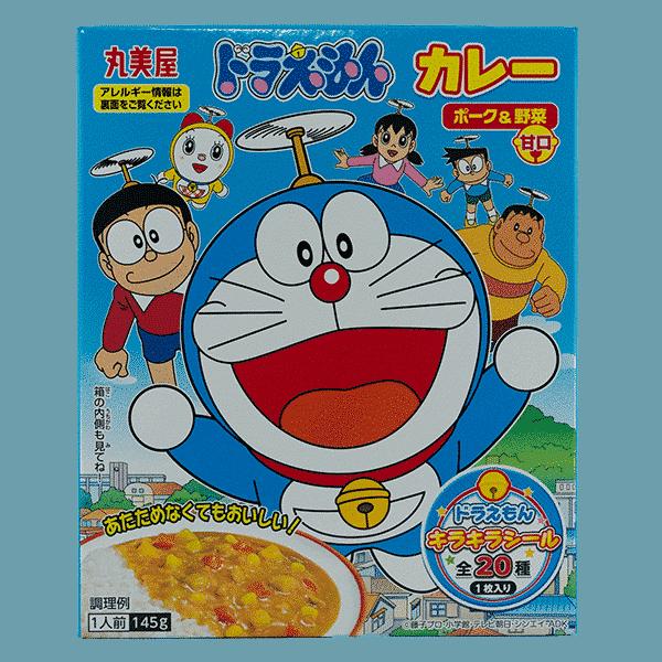 Doraemon Instant Curry Schweinefleisch & Gemüse