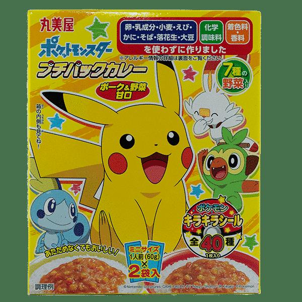 Pokémon Instant Curry Schweinefleisch & Mais (Mini)