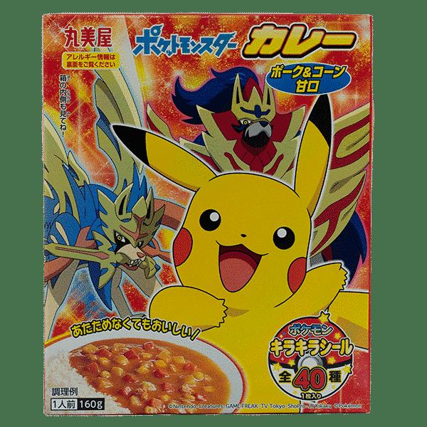 Pokémon Porc et légumes au curry instantané