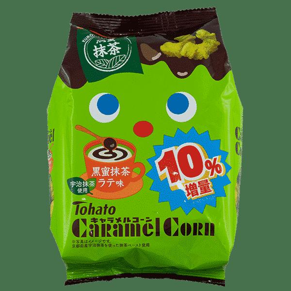 TOHATO Maissnack Caramel-Matcha Latte