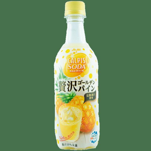 Calpis Soda Goldene Ananas