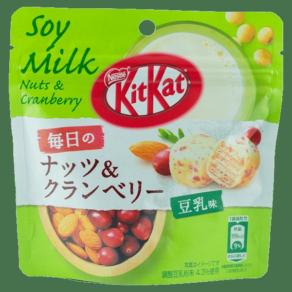 KitKat Bite Everyday Sojamilch Nüsse & Cranberry