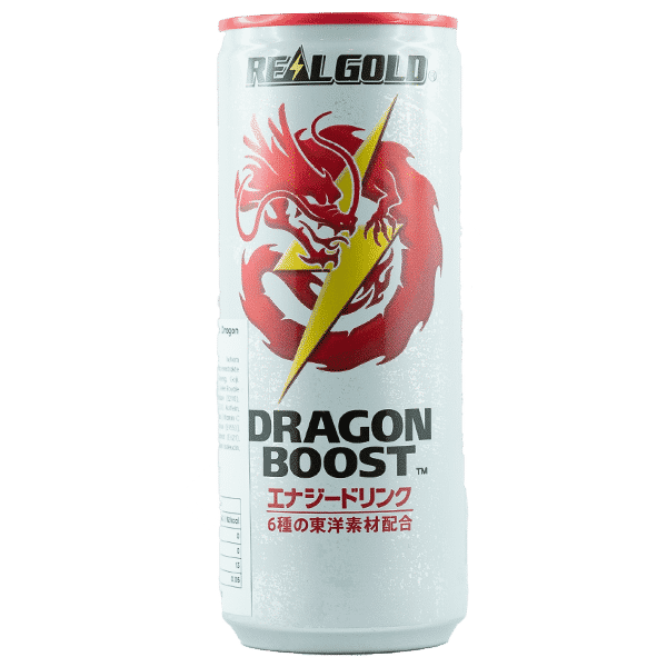 Real Gold Energy Drink Dragon Boost