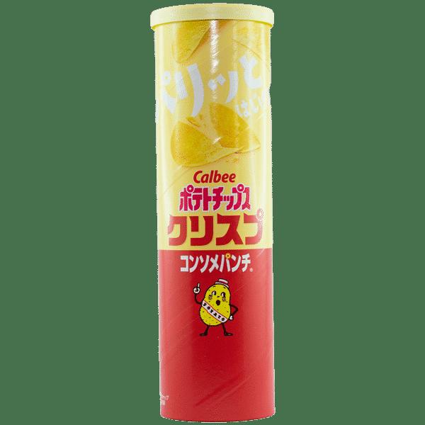 Chips de pommes de terre Consommé