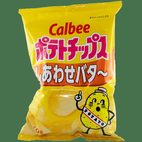 Kartoffelchips Honig-Butter