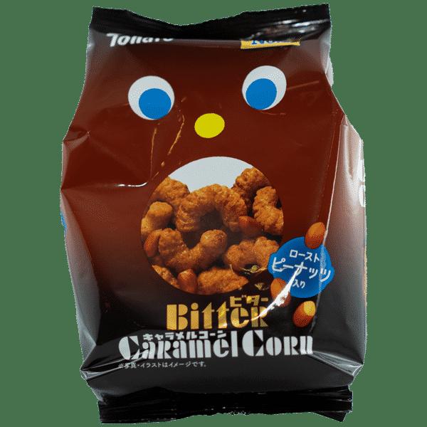 Snack de maïs au caramel amer