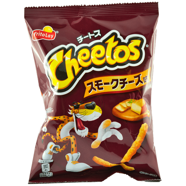Cheetos au fromage fumé
