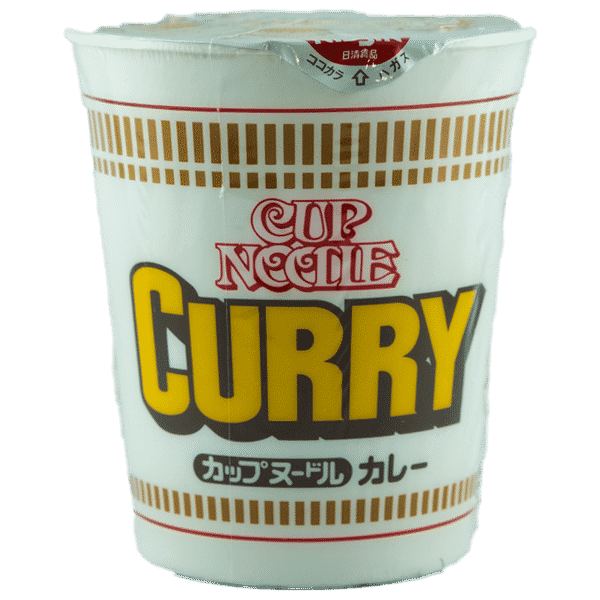 Cup Nudeln Curry