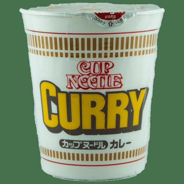 Tasse de nouilles au curry