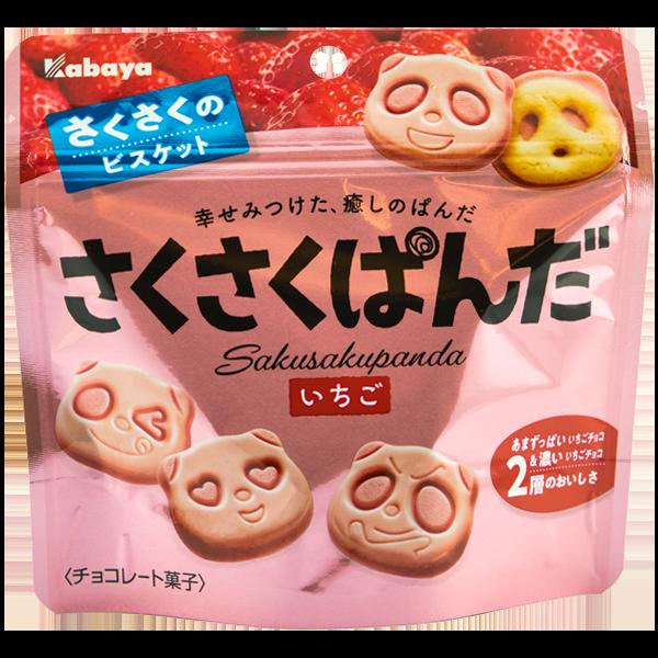 Saku Saku Panda Strawberry