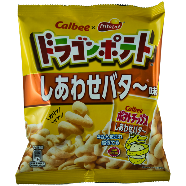 Dragon Chips Miel & Beurre