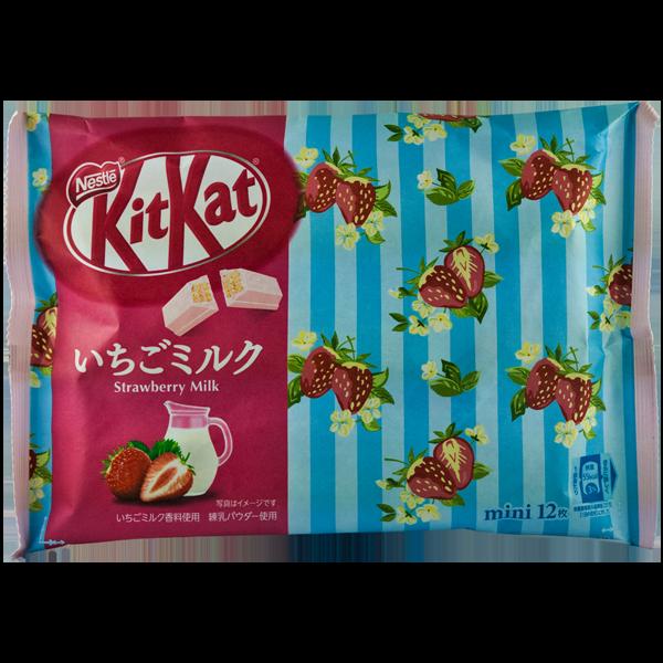 Kitkat Erdbeer-Milch
