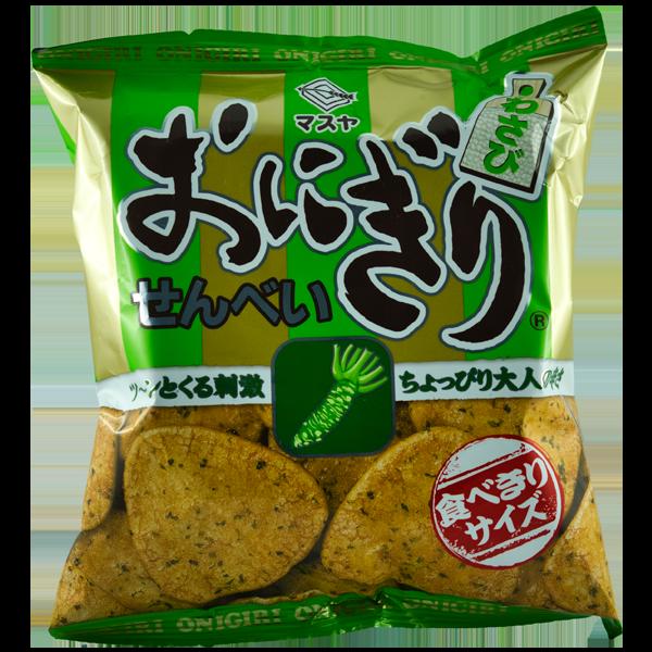 Onigiri Senbei Wasabi