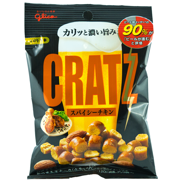 Cratz Snack au poulet épicé
