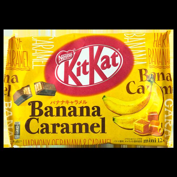 Kitkat Banane & Caramel