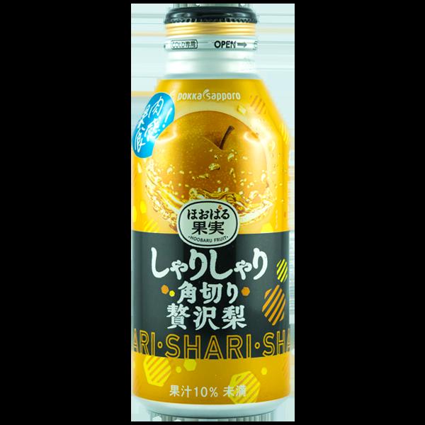 Jus de poire japonaise richement concassée