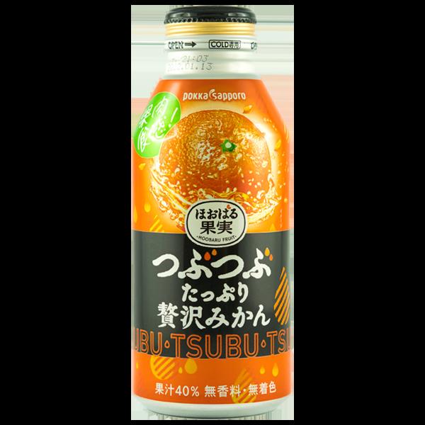 Rich Crushed jus de Mikan avec teneur en fruits de 40%