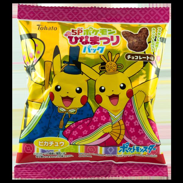 Pokémon Pikachu Chocolat Snack (1 pc.)